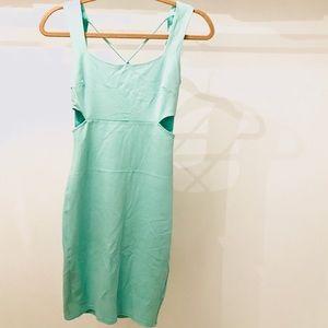 Nasty Gal Sleeveless Cutout Bodycon Midi Dress